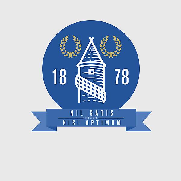 Everton re-designed badge