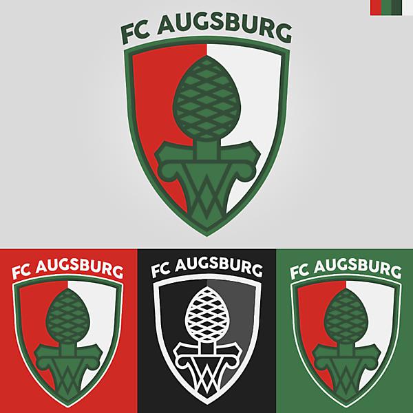 FC Augsburg Crest Redesign