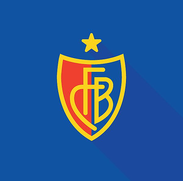 FC Basel 1893 Logo (Minimalist)