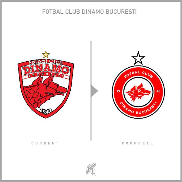 FC Dinamo București Logo Redesign
