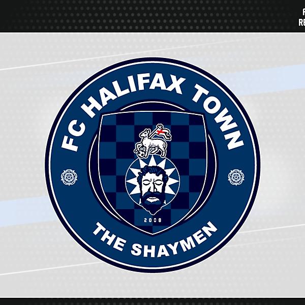 FC Halifax Town Crest Version 3