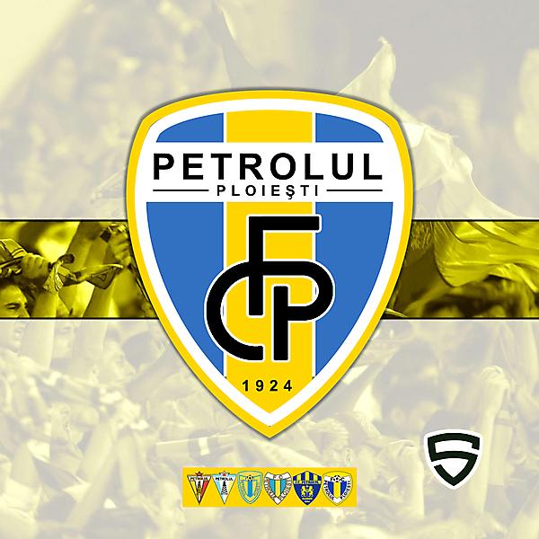 FC PETROLUL PLOIESTI - REDESIGN MONOGRAM