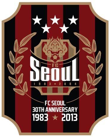 FC SEOUL 30th anniversary emblem