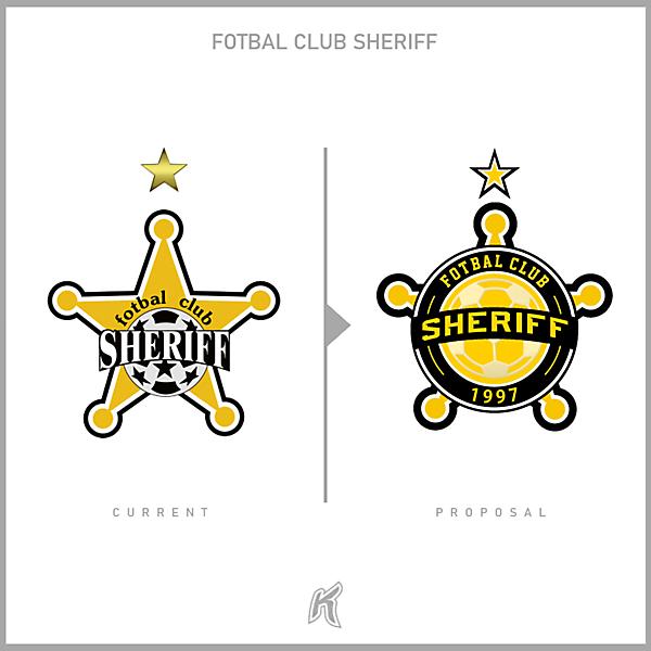 FC Sheriff Logo Redesign