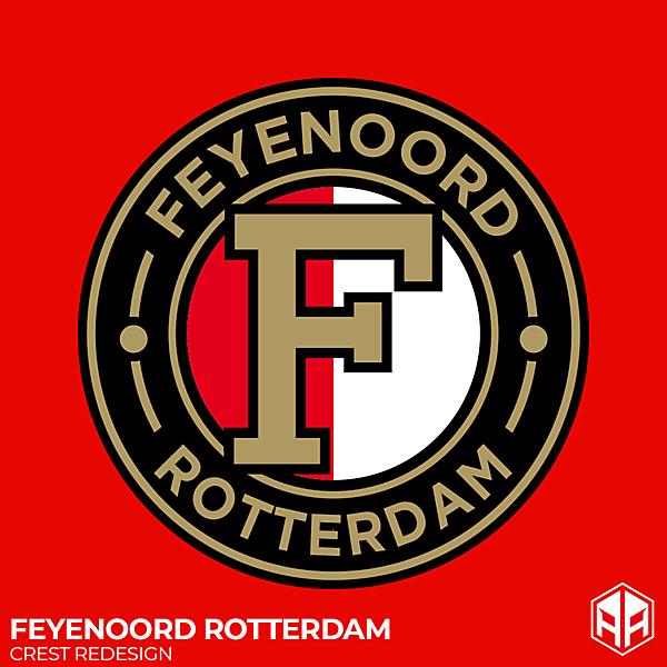 Feyenoord Rotterdam crest redesign
