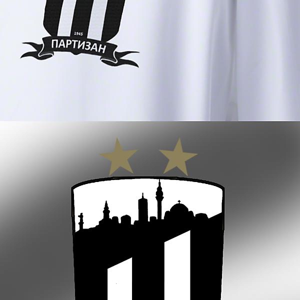 FK Partizan Beograd redesign