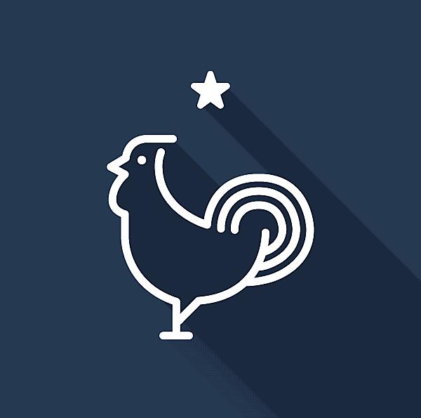 France Logo (Minimalist)