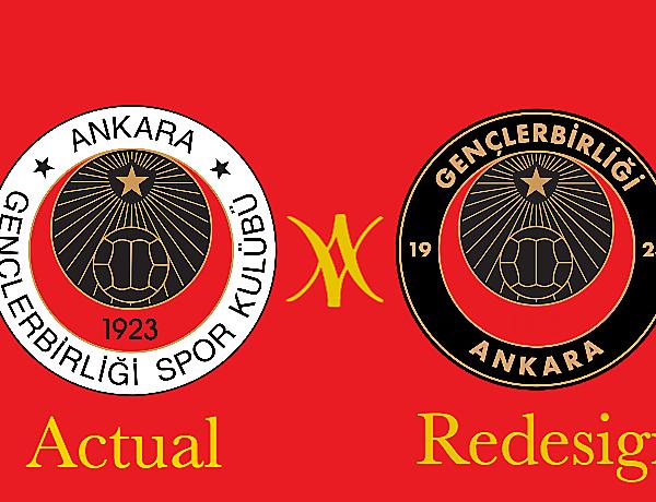 Gençlerbirliği Spor Kulübü Crest Redesign