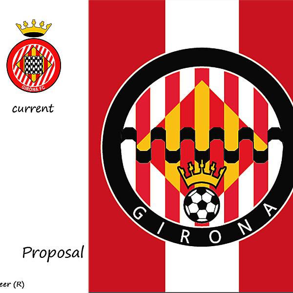 GIRONA FC BADGE PROPOSAL