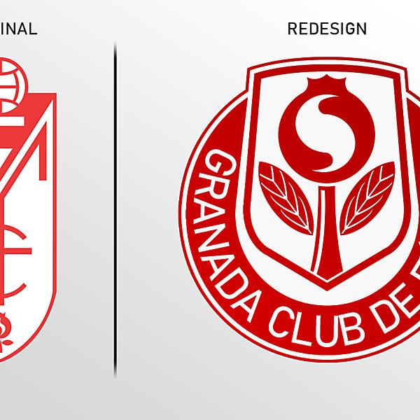 Granada CF Crest Redesign