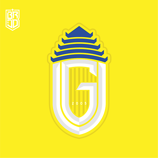 Gresik United Crest Redesign Concept