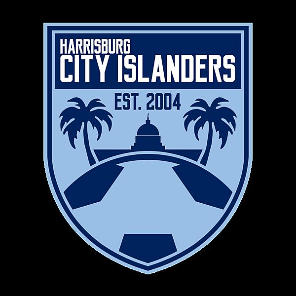 Harrisburg City Islanders Crest