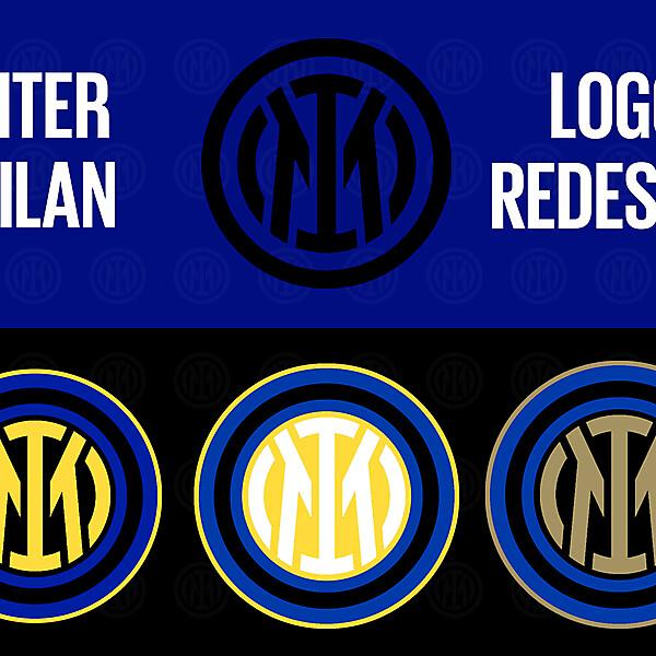 Inter Milan Logo Redesign