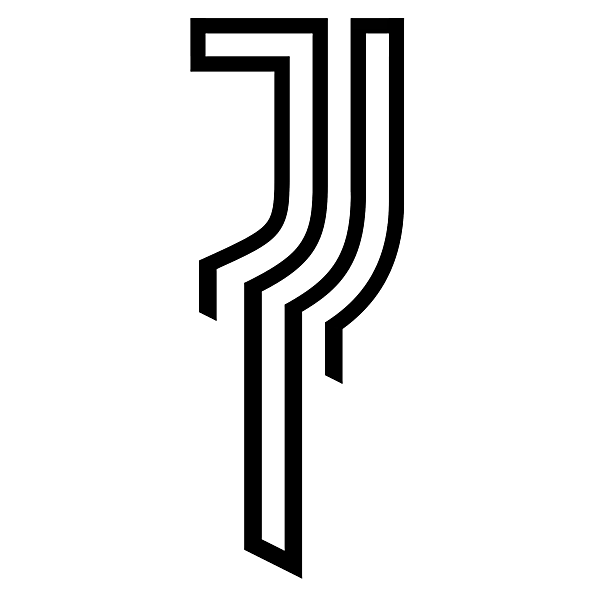 Juventus Turin alternative logo / update on the current logo.
