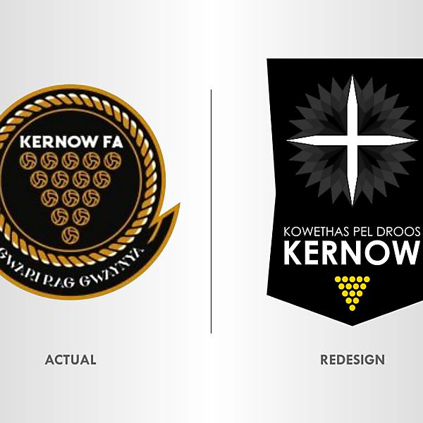 Kernow FA Crest Redesign