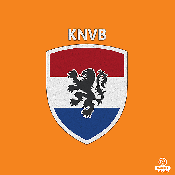 KNVB - crest redesign 1