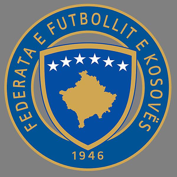 Kosovo Football Federation - Logo 1st Redesign