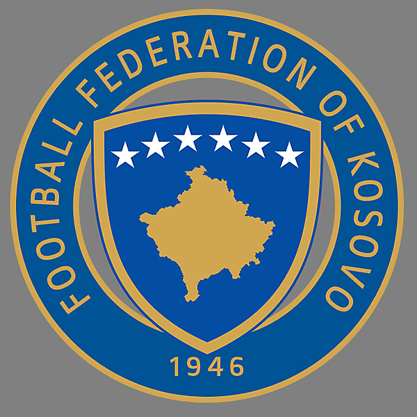 Kosovo Football Federation - Logo 2nd Redesign