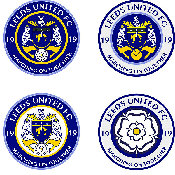 Leeds United Alternative new crest