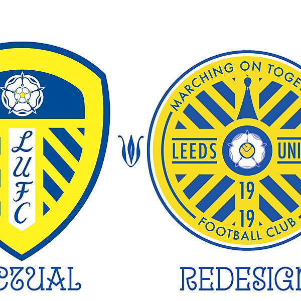 Leeds United Crest Redesign