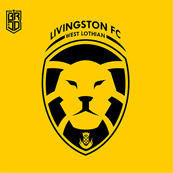 Livingston FC Crest Redesign Concept