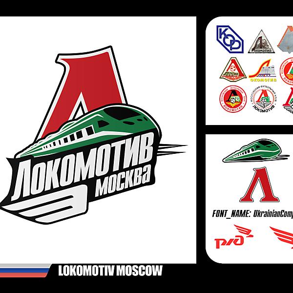 Lokomotiv Moscow Redesign