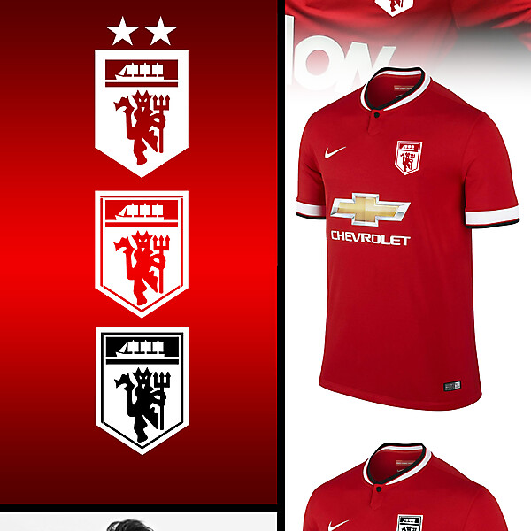 Man Utd fantasy kit badge