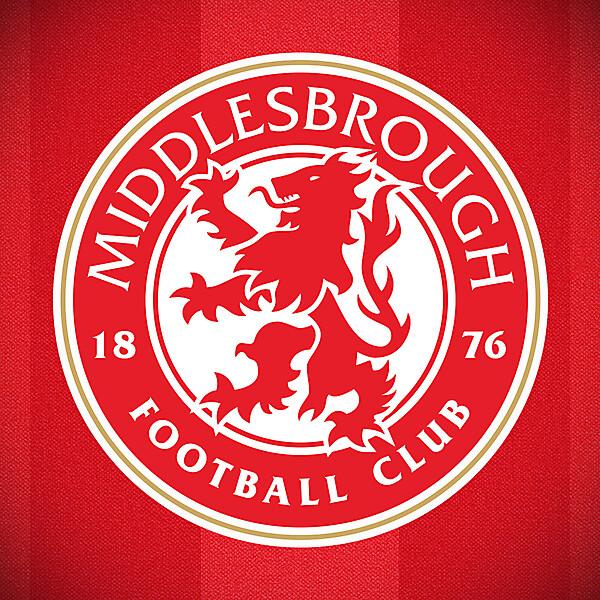 Middlesbrough FC crest
