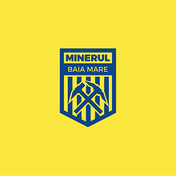 Minerul Baia Mare Crest Concept