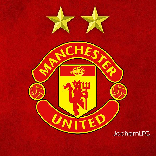 New Manchester United Logo