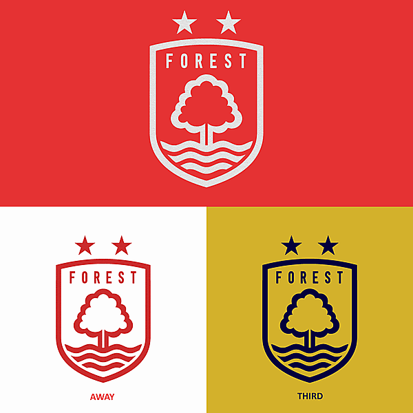 Nottingham Forest FC - crest redesign