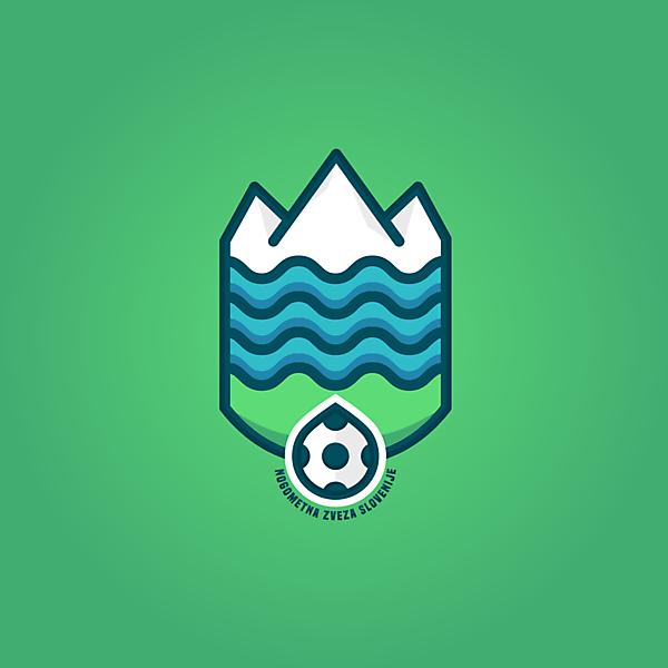 NZS (FA Slovenia) logo