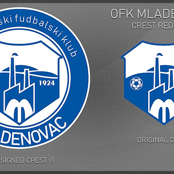 OFK Mladenovac - redesign v1