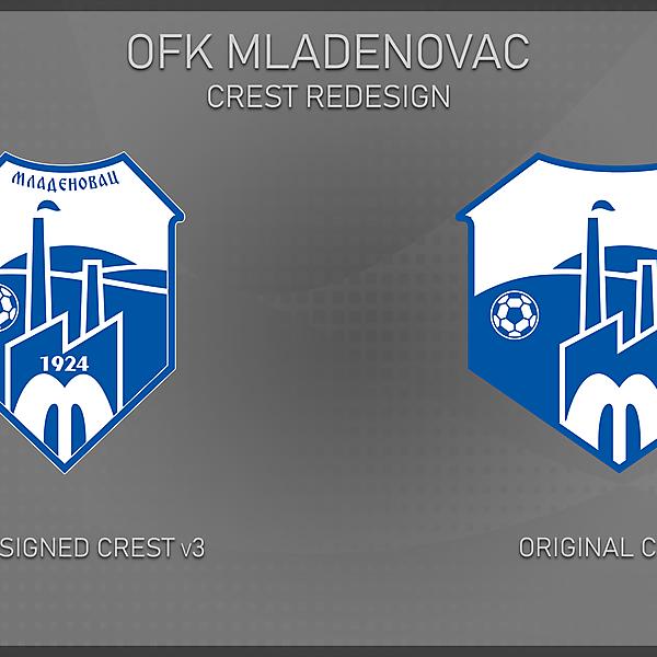 OFK Mladenovac - redesign v3