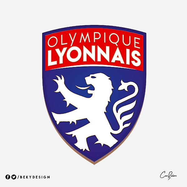 Olympique Lyonnais - LOGO REMAKE