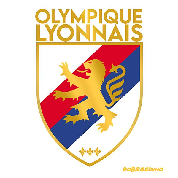 Olympique Lyonnais Logo Crest Concept