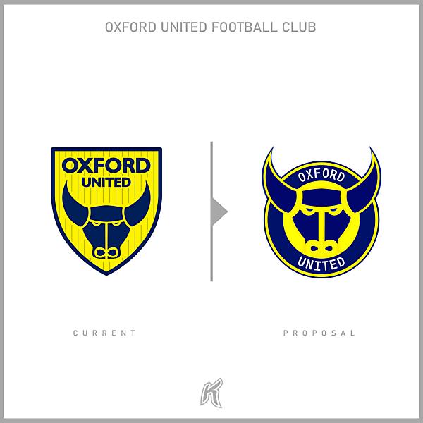 Oxford United Logo Redesign