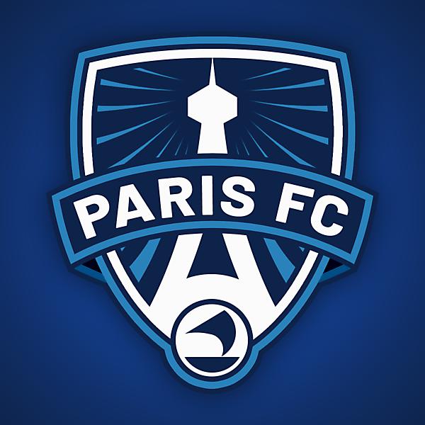 Paris FC | Crest Redesign