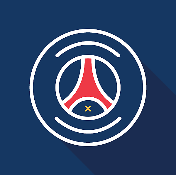 Paris Saint-Germain Logo (Minimalist)