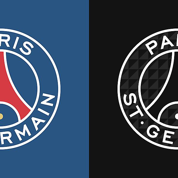 Paris Saint-Germain New Logo