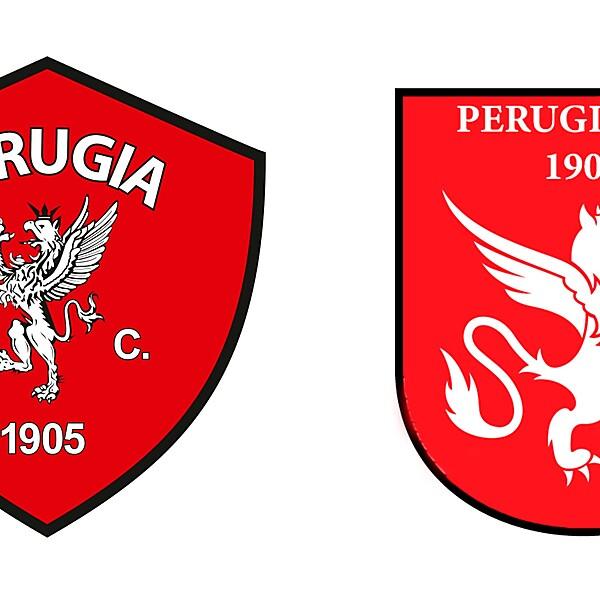 PERUGIA LOGO REDESIGN