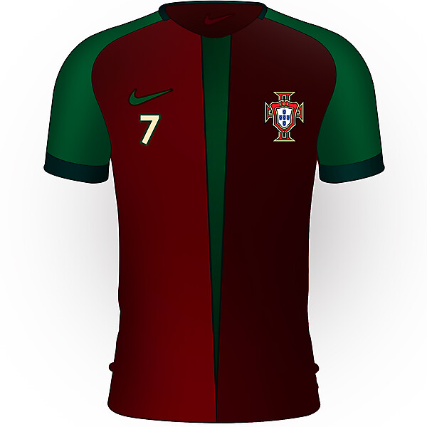 Portugal Home Kit Redesign