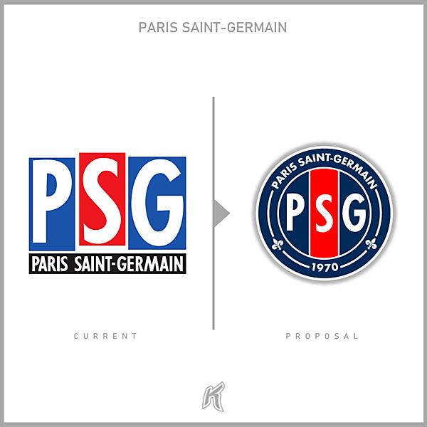 PSG 1992 Logo Redesign