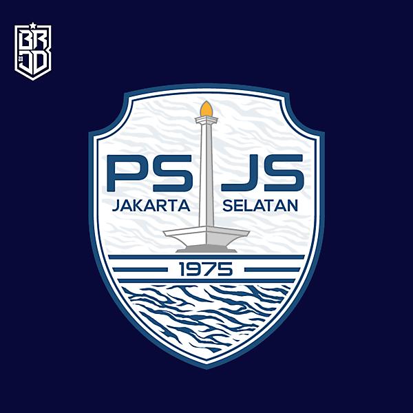 PSJS South Jakarta Crest Redesign Concept