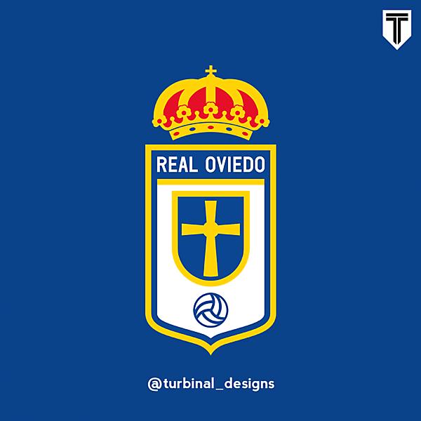 Real Oviedo Crest Redesign