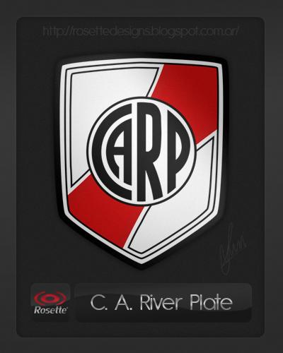 Re-designed logo of River Plate