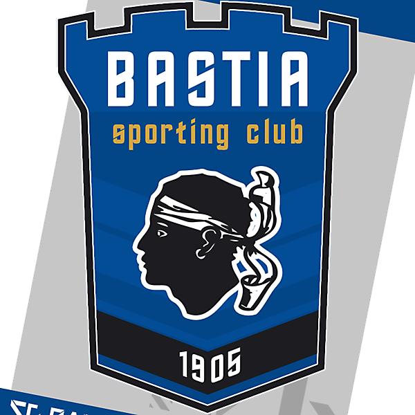 SC Bastia Rebrand