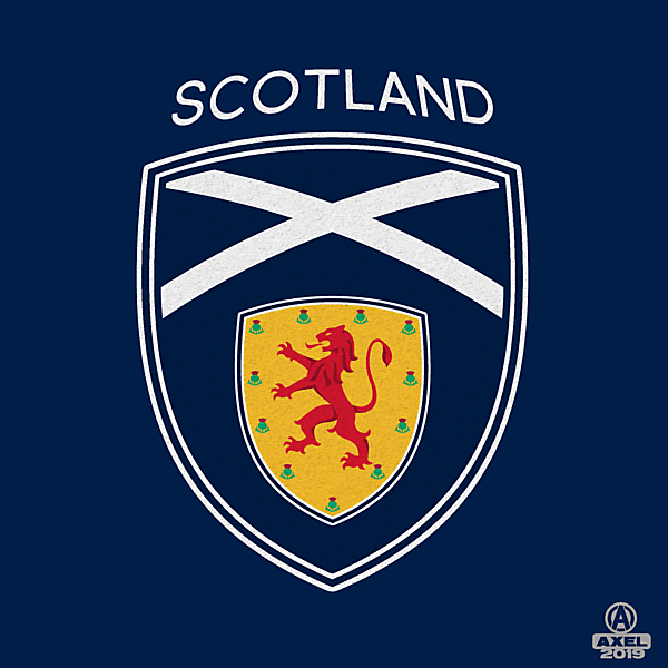 SCOTTISH FA - crest redesign B