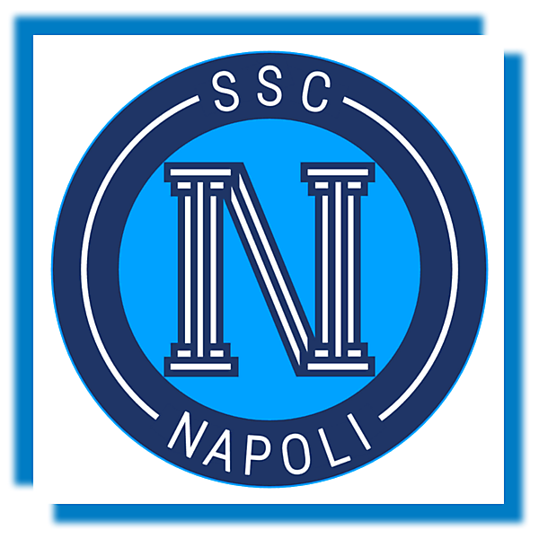 SSC Napoli - Crest Redesign