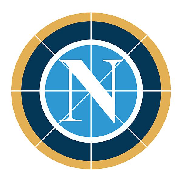 SSC Napoli Pizza Neopolitano logo.